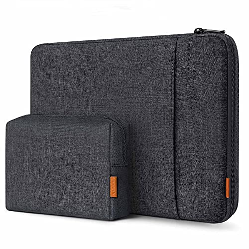 Inateck 360° Protezione 13 Pollici Custodia Compatibile con MacBook Air 13 2020 M1/2019/2018, MacBook Pro 13 2020 M1-2016, Surface Pro 7/6 /X/5/4/3, XPS 13, con Borsa Accessori