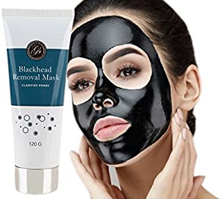 Blackhead Remover Peel Off Face Mask (120g) - Purifies & Deep Cleanses Clogged Pores - Use as Nose Strip - Facial Removal Mask by Grace & Stella Co.
