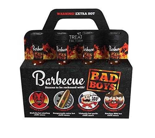 Selezione di salse barbecue Bad Boys