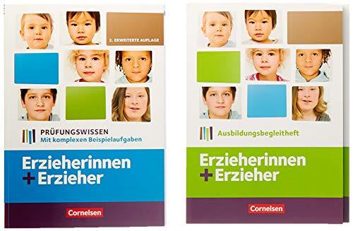 Erzieherinnen + Erzieher - Aktuelle Ausgabe: Zu allen Bänden - Arbeitsheft und Prüfungswissen im Paket: 451034-0 und 451095-1 im Paket