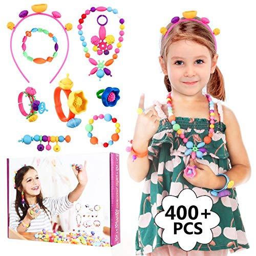 HellDoler Pop Beads,Kit de Fabricación de Joyas para Niños con Más de...
