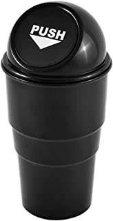 Keeps Your Car Clean for Each Car or Front /& Back Seats Azi 2 Car Cup Holder Trash Can Garbage Bin with Spring Loaded Lid Fits Standard Cupholder