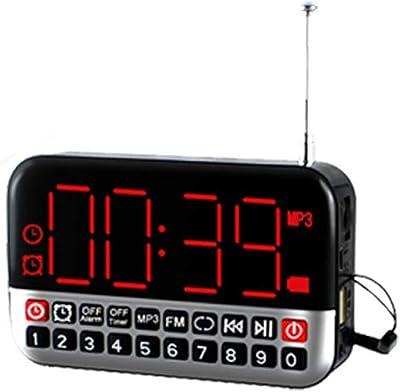 TFA Dostmann 60.2528 BINGO Radio Despertador electrónico con ...