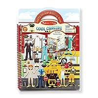 [メリッサ ・ ダグ]Melissa & Doug Puffy Sticker Cool Careers Activity Book 9426 [並行輸入品]