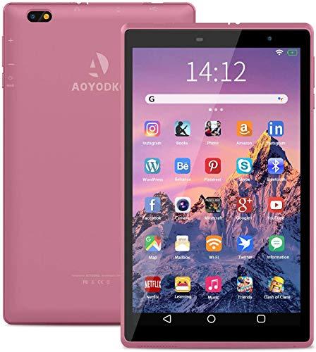 Tablet 8-Zoll 4G, Android 10.0 Zertifiziert von Google GMS, 3 GB RAM, 32 GB ROM/128GB erweiterbar, IPS HD (1280 x 800) ,5000 mAh Quad Core,WiF