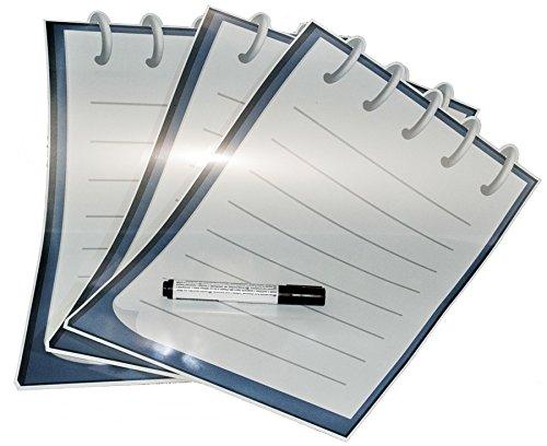 NOPAR Tacklite Whiteboard of Notepad zelfklevend, herbeschrijfbaar, wit