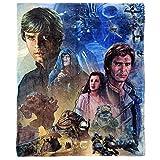 Disney Star Wars, 'Return of the Jedi' Silk Touch Throw Blanket, 50' x 60', Multi Color