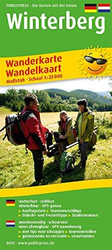 Winterberg: Wanderkarte / Wandelkaart mit Ausflugszielen, Einkehr- & Freizeittipps, wetterfest, reißfest, abwischbar, GPS-genau. 1:25000 Deutsch-Niederländisch (Wanderkarte / WK)