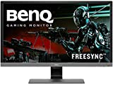 BenQ 28 inch 4K HDR10 Monitor (EL2870U), UHD 3840x2160, FreeSync, 1ms Response Time, Eye-Care, Brightness Intelligence Plus, HDMI, DP, Built-in Speakers (Renewed)