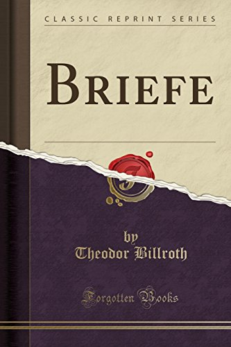 Briefe (Classic Reprint)
