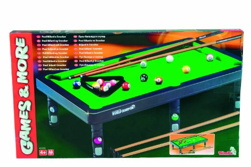 Simba 6165224 - Games & More Pool Billard & Snooker