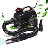 shernbao High Velocity Professional Cat Dog Pet Grooming Negative ion Force Dryer Blower 5.0HP (Super Cyclone) SHD-2600P