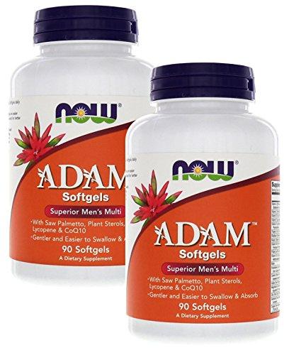 Adam™ Men's Multiple Vitamin 90 Softgels (Pack of 2)