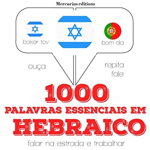 Couverture de 1000 palavras essenciais em hebraico