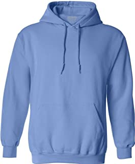 Joe's USA Hoodies - Soft & Cozy Hooded Sweatshirts in 62 Colors. in Sizes S-5XL Carolina Blue
