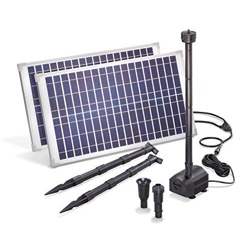 Bomba solar para estanque de 50 W, módulo solar de 1750 l/h, caudal de 3 m, altura de extracción de la serie Professional de Esotec 101916