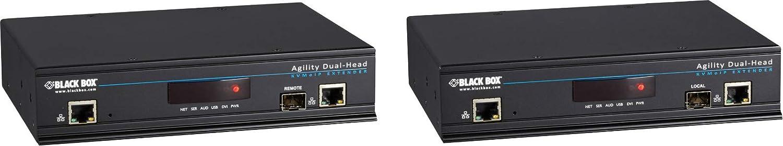 Black Box Kvm Over IP Matrix USB 2.0 Manufacturer OFFicial shop Dvi-D Extend High quality new kvm Dual-Head