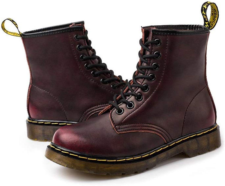 LiXiZhong Men's Boots, Fashion Casual Men's Boots, Outdoor Non-Slip Men's Boots