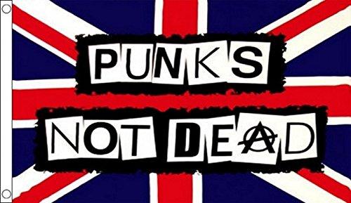 1000 Flags Sex Pistols Punks Not Dead Anarchy Flag 5'x3'