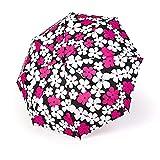 Faltbarer Regenschirm, schwarzer Kunststoff, Sonnenschutz, UV, Mädchen, Studenten, einfacher faltbarer Sonnenschirm, leicht zu transportieren/A BJY969 (Farbe: A)