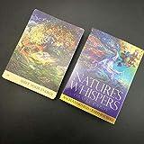 YQRX Natures Whispers Oracle Tarjetas, Misterioso Fate Divination Tarot Tarjetas de Tarot, Juego de Mesa con guía para niños Juegos Divertidos (Bolsas, manteles)