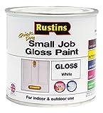 Rustins GPWHW250 QD Small Job White 250ml