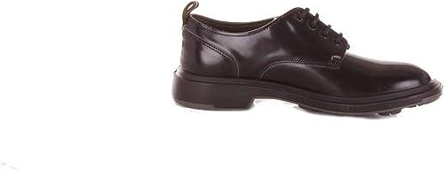 PEZZOL 1951 Homme 042FZnoir Noir Cuir Chaussures à Lacets