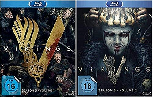 Vikings Staffel 5.1+5.2 / Die komplette Staffel 5 [Blu-ray Set]