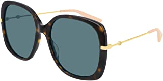 Gucci GG0511S DARK HAVANA/BLUE 57/18/140 women Sunglasses
