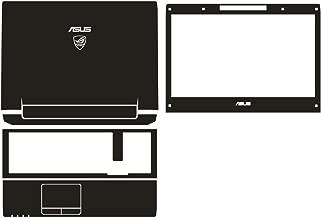 Laptop Black Carbon fiber Vinyl Skin Stickers Cover guard for ASUS G74 G74SX G74SW G74S 17.3-inch
