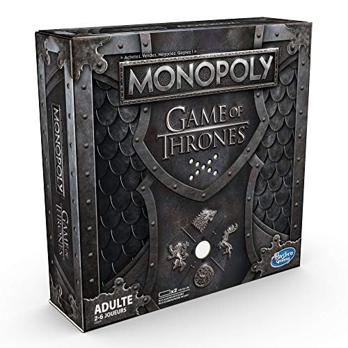 Monopoly - Jeu de Societe Game of Thrones Edition Collector - Jeu de Plateau - Version Française
