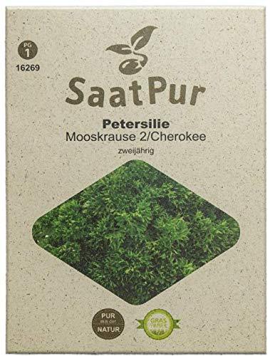 SaatPur Petersilie Cherokee Samen, Saatgut für ca. 300 Pflanzen