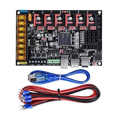 LICHONGUI Control Board 32 Bit ARM CPU 32bit Mainboard Smoothieboard for 3D Printer Parts Reprap