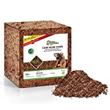 Grow Organiks Coconut Coir Husk Chips 11Lbs, Coco Coir Fibre Mulch-Reptile Substrate/Potting Soil Mix for Greenhouse & Ornamental Plants-Indoor & Outdoor Applications