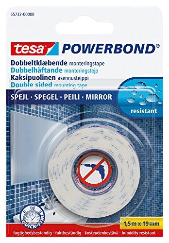 Tesa Spiegel-Klebeband, doppelseitig, 19mmx1,5m