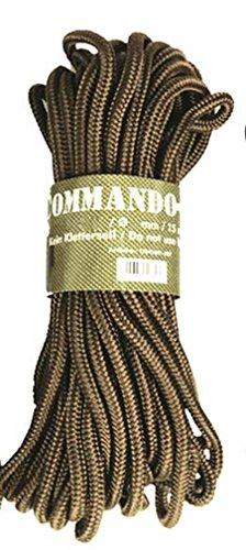 Mil-Tec Corde commando 15 m x 5 mm Sable