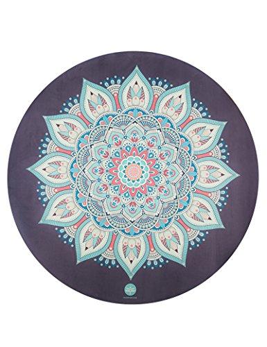 Anti-Rutsch-Yoga-Matte --- Runder Naturkautschuk Anti-Rutsch-Meditationskissen-Bewegung Fitness-Matten Yogamatten --- Naturkautschuk Yoga-Matte, für Training / Pila ( Farbe : 2 , größe : 150*150*0.15cm )