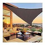 GuoWei Toldo Vela De Sombra, 85% Protección Rayos UV Al Aire Libre Jardín Protector Solar Carpas, Toldo Resistente Al Desgarro para Terraza, Tamaño Personalizado (Color : A, Size : 6.5x6.5x6.5m)