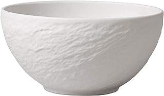 Villeroy & Boch 10-4240-1900 Manufacture Rock Blanc Bowl, 650 ml, Premium Porcelain, White