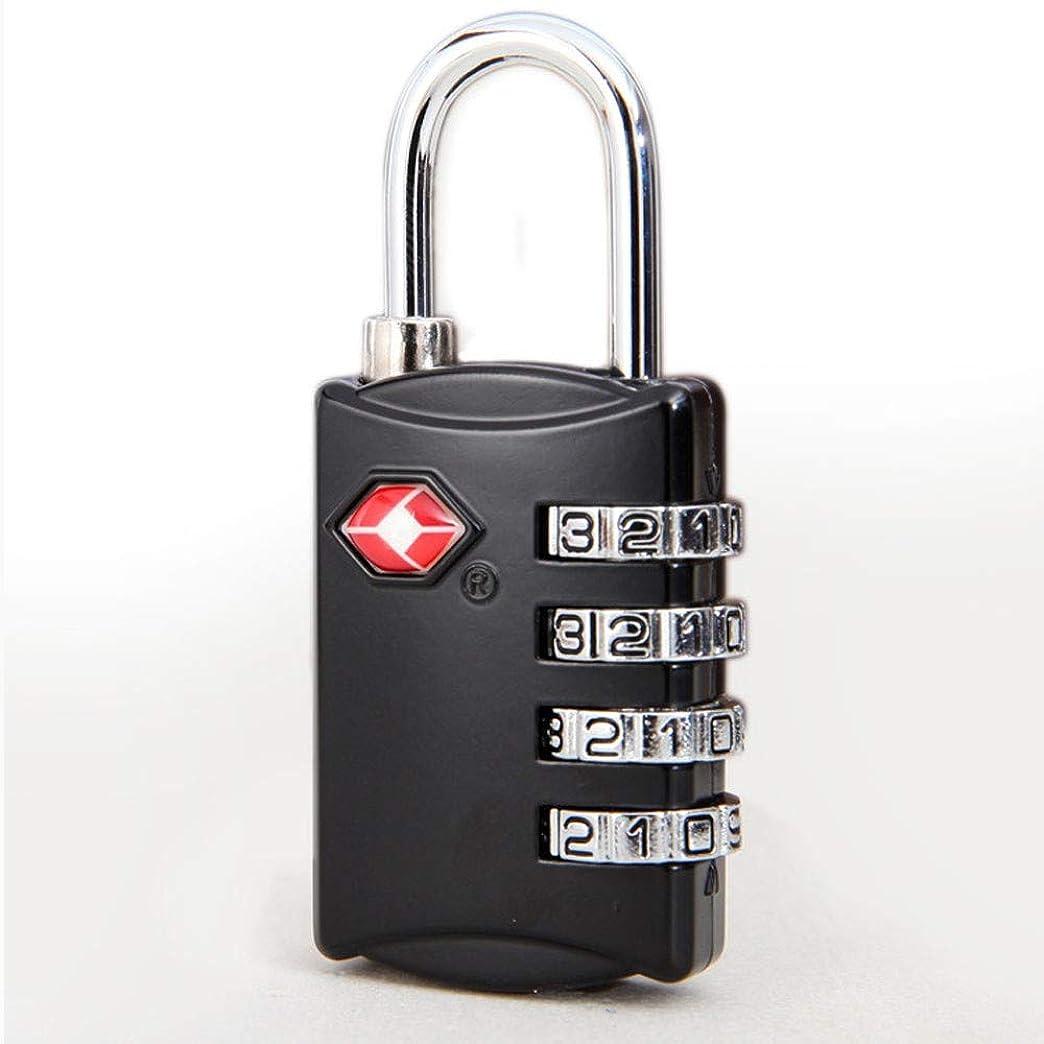 マージン軽量自分を引き上げるTSAラゲッジロック、4桁セキュリティ南京錠、携帯用金属コンビネーション南京錠、旅行用バッグ、ジム、ロッカー、寮、引き出し、日記など