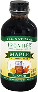 Frontier Natural Products - All-Natural Alcohol-Free Flavor Maple - 2 oz (pack of 2)