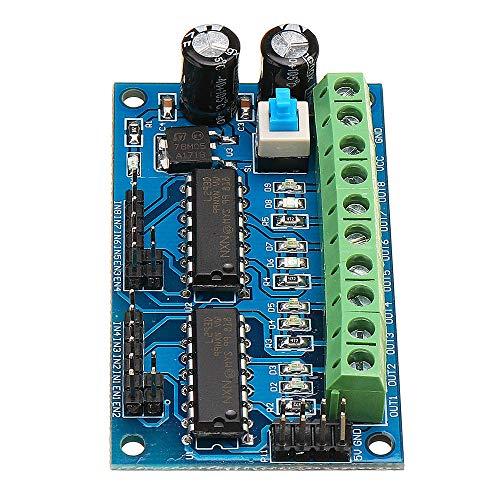 3 unids L293D 4 DC Motor Drive Motor Driver H-Puente H-Puente para 4WD Coche Robot