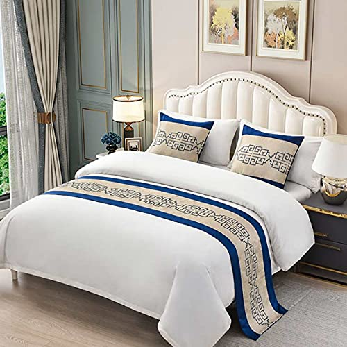 QFWMCW Hotel Bedding Bed Runners & Scarves Bed Decorations for Bed Cover Bed Scarf for Twin Queen King Size Bed Bed Throws for Foot of Bed