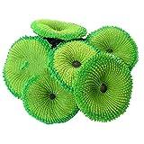 Runfon Coral Artificial Falso Fish Tank Paisaje Coral Plantas del Acuario decoración del Ornamento Verde