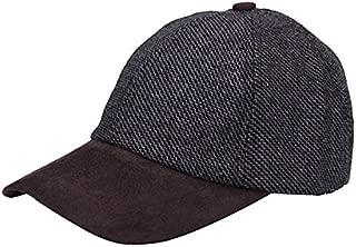 Tweed Suede Basball Cap Hat