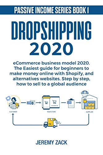 Dropshipping eCommerce business model 2020: The easiest guide for beginners to make money online with Shopify and alternatives websites.  Step by step, ... a global audience. (Passive income Book 1)