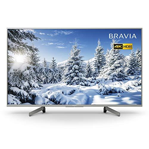Sony BRAVIA KD43XG70 43-inch LED 4K HDR Ultra HD Smart TV - Silver