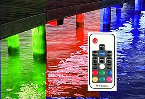 Multi-Color Pimp My Dock LED Lights DIY Premium 15,000 Lumen LED Under Dock Lighting Kit SMD5630 IP68 Completely Waterproof (Multi-Color)
