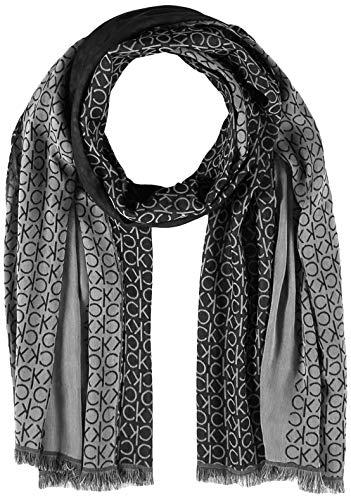 Calvin Klein K50k505180 Bufanda, Negro (Black Bds), Talla única (Talla del fabricante: OS) para Hombre