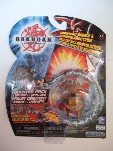 Bakugan Battle Brawlers Subterra Tan Preyas Series 1 Booster Pack